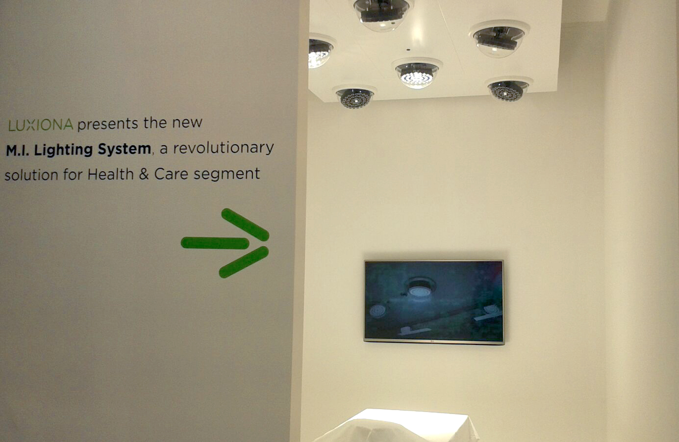 Luxiona group is pleased to present the innovative  lighting system for operating theatres in Dubai
