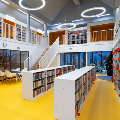 Library in Przysietnica