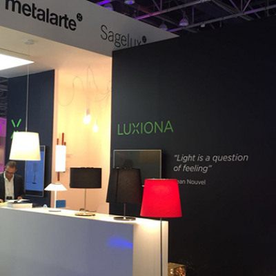 Luxiona Group boosts its presence in the Middle East and attends the Light Middle East fair in Dubai for the third year running