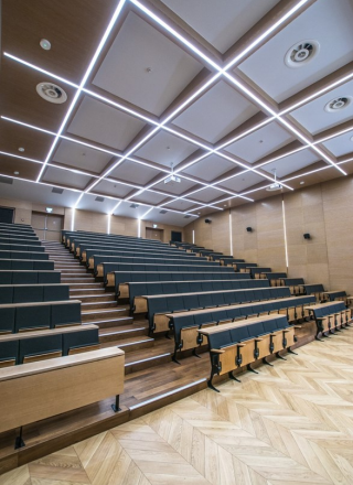 Auditorium of Institute of Physics University of Mikolaj Kopernik