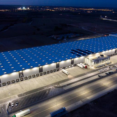 Technical and emergency lighting at the Cabanillas del Campo logistics centre (Guadalajara, Spain)